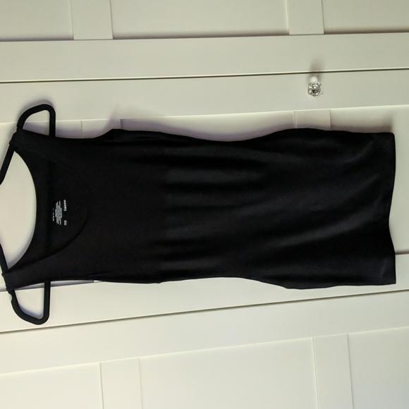 ❄️ 3/$25 JOCKEY Black Tank Mini Dress